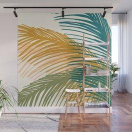 Golden Hour Palms Wall Mural
