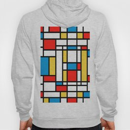 Tribute to Mondrian No2 Hoody