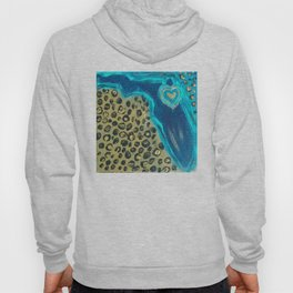 Florida Teal Love Hoody