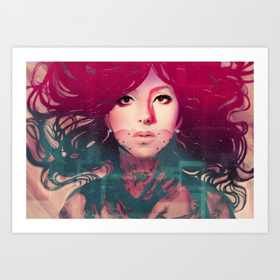 Cassie Art Print