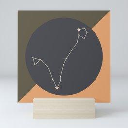PISCES (MID-CENTURY MODERN) Mini Art Print