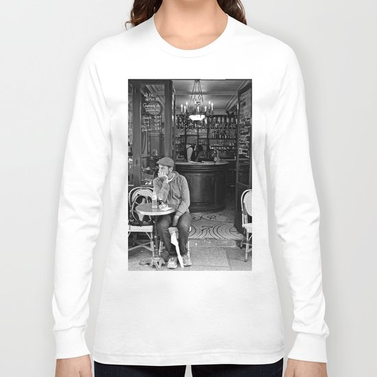 At the Cafe Long Sleeve T-shirt
