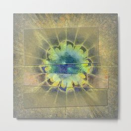Disfranchises Trance Flowers  ID:16165-032606-04721 Metal Print