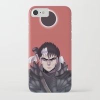 berserk iPhone & iPod Cases featuring Guts Berserk by Kurodoj