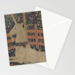 The Unicorn in Captivity Stationery Cards