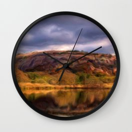 Enchanted Rock Wall Clock