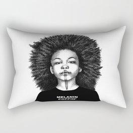 Melanin Poppin Rectangular Pillow