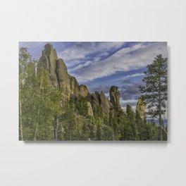 Nature's Towers Metal Print