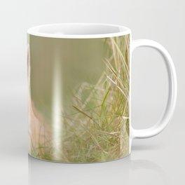 The Cute Kit (Red Fox cub) Coffee Mug