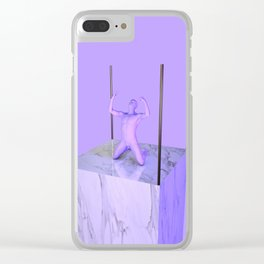 Tortured Clear iPhone Case