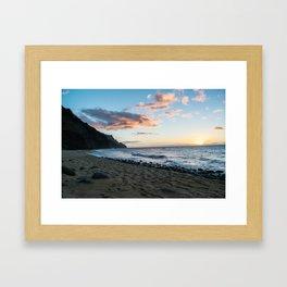Kalalau Beach Framed Art Print
