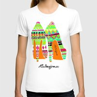 heels T-shirts featuring Aztec - Heels by RsDesigns