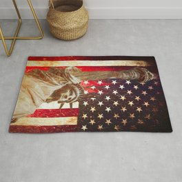 Lady Liberty by Brian Vegas Rug