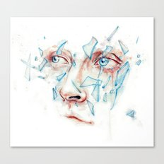 Shattered emotions Canvas Print