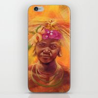 spice iPhone & iPod Skins featuring Spice Kid by The Art of Vancuf