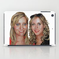 sisters iPad Cases featuring Sisters by Saoirse Mc Dermott