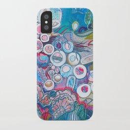 Aquatic Soul Dance iPhone Case