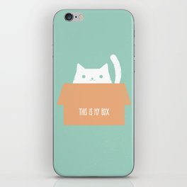 This is My Box iPhone Skin