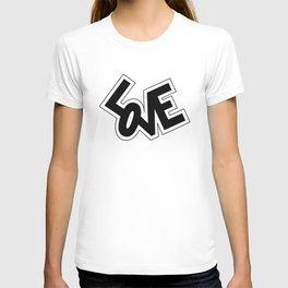 Pop Love in Black T-shirt
