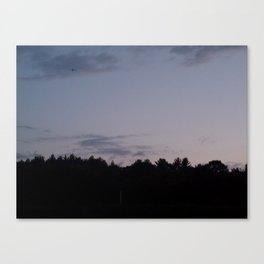 Sunset in New England Canvas Print