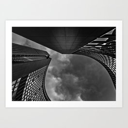 Toronto City Hall No 9 Art Print
