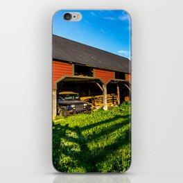 Jeep, Tractor & Barn iPhone Skin