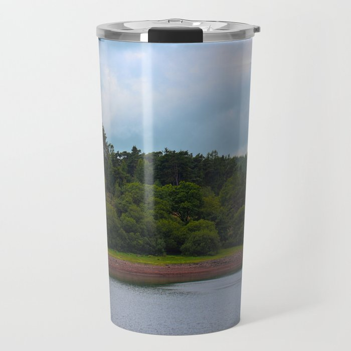 Usk Reservoir 2 Travel Mug