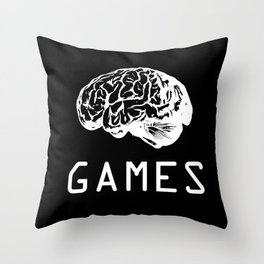 Mind Games Throw Pillow