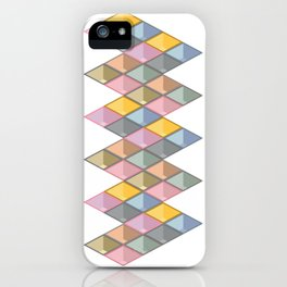 3D iso graphic iPhone Case