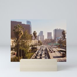 The Rush Hour, DTLA Mini Art Print
