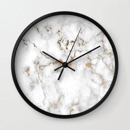 Eureka Copper Marble Wall Clock