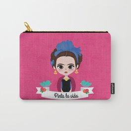 "Frida ""Pinta la vida"" Carry-All Pouch"