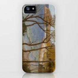 Pacific Beaches - Albert Hanson  iPhone Case