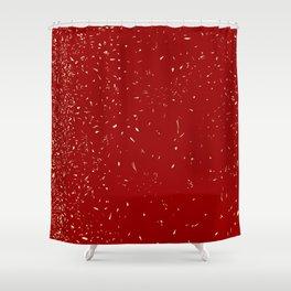 Fleck Background Shower Curtain