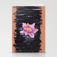 lotus Stationery Cards featuring Lotus by KeithKarloff
