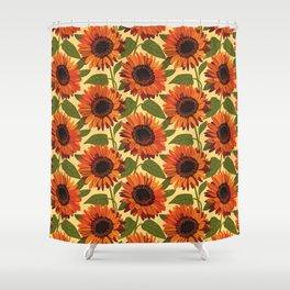Venidium Orange Monarch of The Veldt Flower Shower Curtain