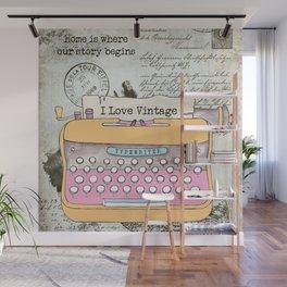 Typewriter #1 Wall Mural