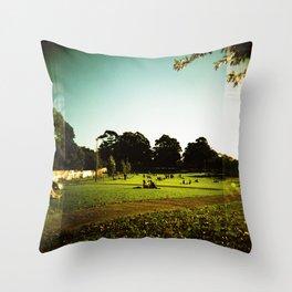 Newtown Park, Sydney Throw Pillow