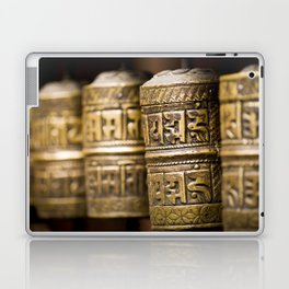 Tibetan Prayer Wheel Nepal Temple Laptop & iPad Skin