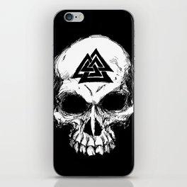 ValknutR Skull iPhone Skin
