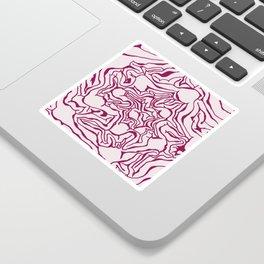 Cabbage Core Sticker