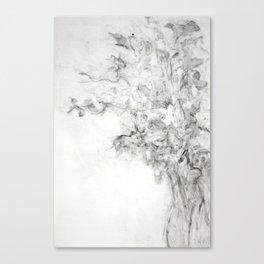Vase of daffodil Canvas Print