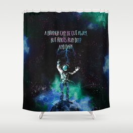 Nyxia - Roots Shower Curtain