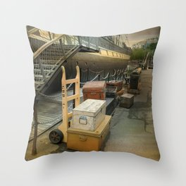 S.S. Great Britain Throw Pillow