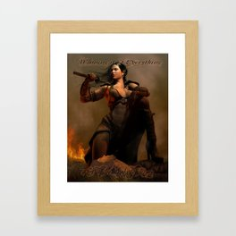 Winning Framed Art Print