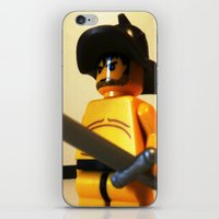 gladiator iPhone & iPod Skins featuring SPARTACUS THE GLADIATOR CUSTOM LEGO MINIFIG by Chillee Wilson by Chillee Wilson [Customize My Minifig]