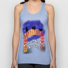 Fat Cats On the Archway Unisex Tank Top