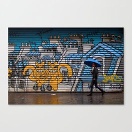 Under the roofs of Paris Canvas Print