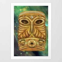 The Owl of the Western Door (Koromo) Art Print