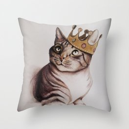 King Clyde Throw Pillow